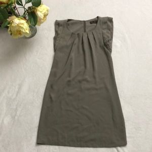 ⭐️Zara⭐️woman grey brown dress